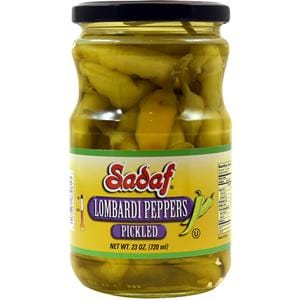 Sadaf Lombardi Peppers Pickled - Mild