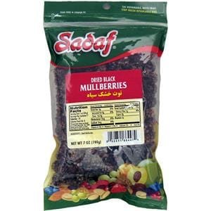 Sadaf Mullberries Dried Black