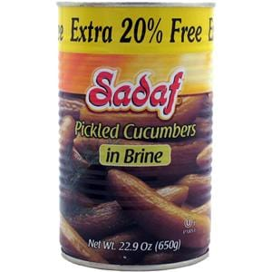 Sadaf Pickled Cucumbers in Brine Extra