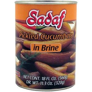 Sadaf Pickled Cucumbers in Brine Medium