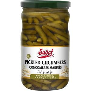 Sadaf Pickled Cucumbers with Tarragon