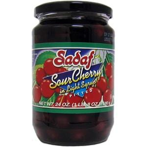 Sadaf Pitted Sour Cherry in Light Syrup