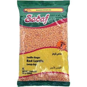 Sadaf Red Lentils Domestic