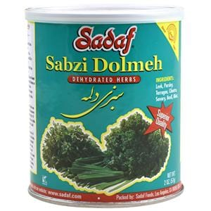 Sadaf Sabzi Dolmeh - Dried Herbs Mix SDF
