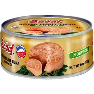 Sadaf Solid Light Tuna in Olive Oil - Easy Open