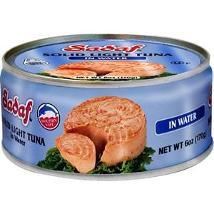 Sadaf Solid Light Tuna in Water - Easy Open