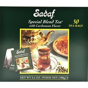 Sadaf with Cardamom 50 Tea Bags