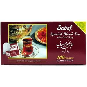 Sadaf Tea with Earl Grey 100 T Bags.