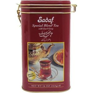 Sadaf with Earl Grey 16 oz Tin