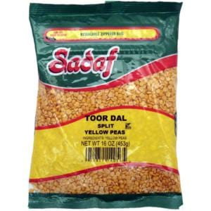 Sadaf Yellow Split Peas - Toor Dal