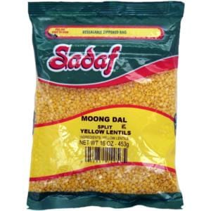 Sadaf Yellow Split lentils - Moong Dal