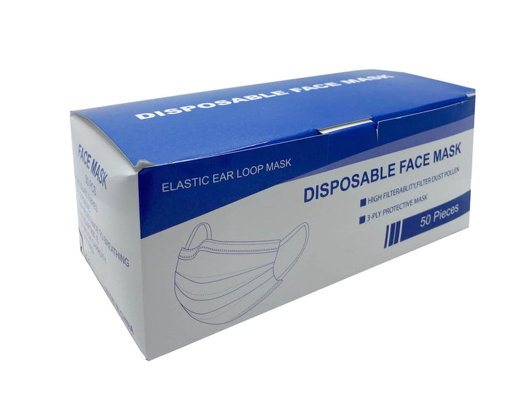 Surgical Mask 50 Pieces - Disposable