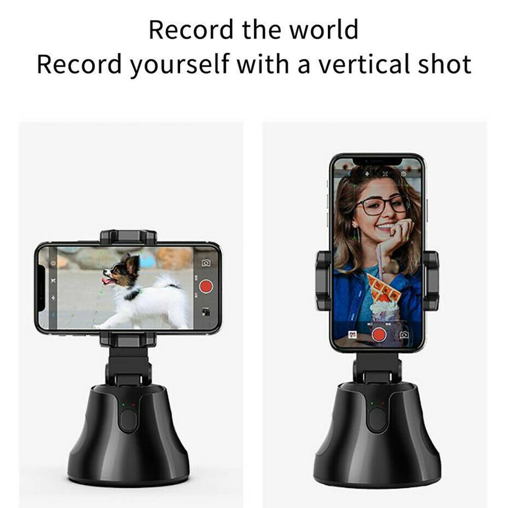 Auto Rotating 360 Degrees Tracking Selfie - Tactical Tricks