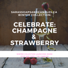 Celebrate (Strawberry Champagne) Candle - Large