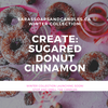 Create (Sugared Cinnamon Donut) Candle - 14oz