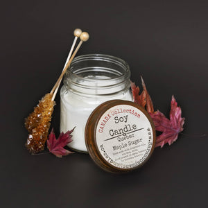 Quebec Maple Sugar Soy Candle - 7.5oz