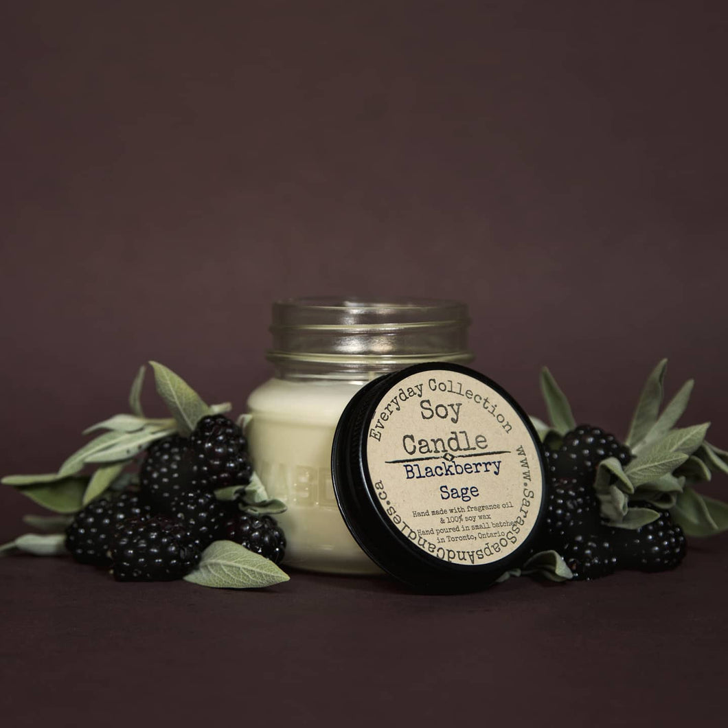 Blackberry Sage Candle - 7.5oz