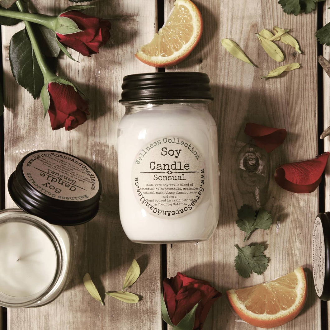 Sensual soy candle - 13oz