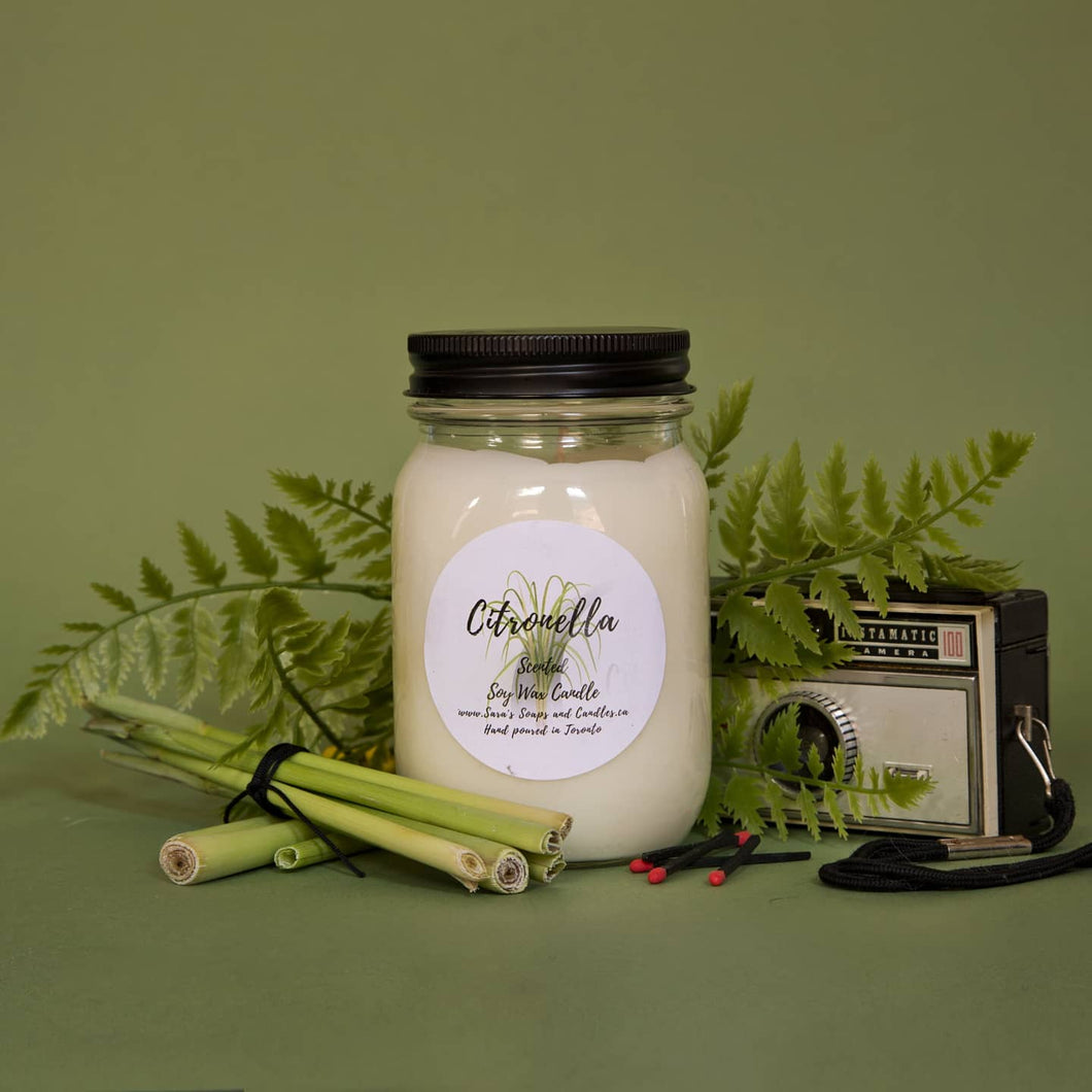 Citronella soy candle - 13oz