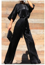 Load image into Gallery viewer, Tie-Front Jumpsuit