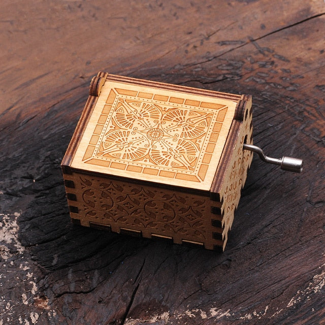 """Can't Help Falling In Love"" Handcrafted Music Box"