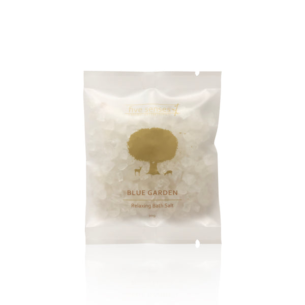 Blue Garden Relaxing Bath Salt in a Luxurious Ceramic Jar