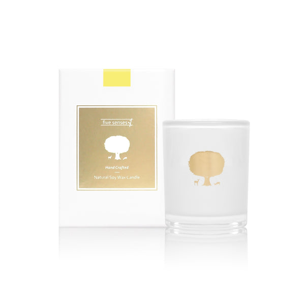 Amber Blossom Natural Soy Wax Candle