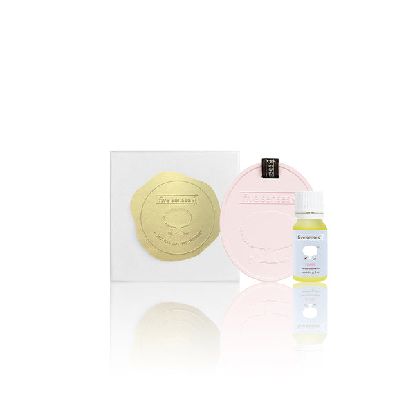 Rosy Pink Aroma Ornament Set