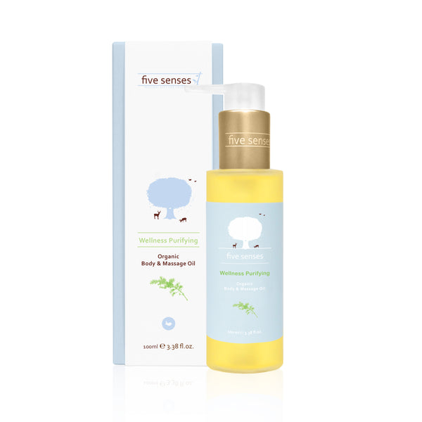 Wellness Purifying Organic Body & Massage Oil 100ml