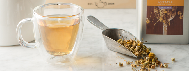 Delicious little flowers: Organic Chamomile Tea