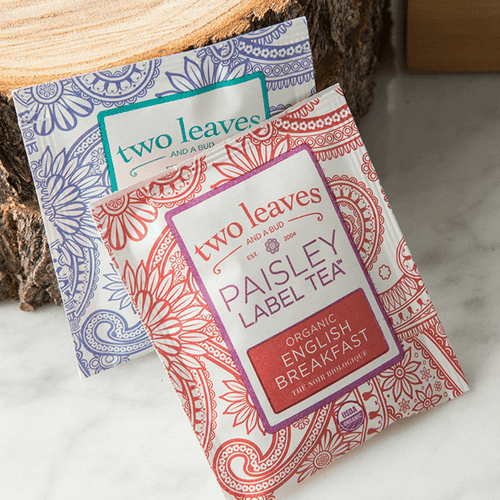 Paisley Label Teas in Traditional Teabags