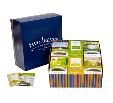 100 Cups of Green Tea Sampler Box