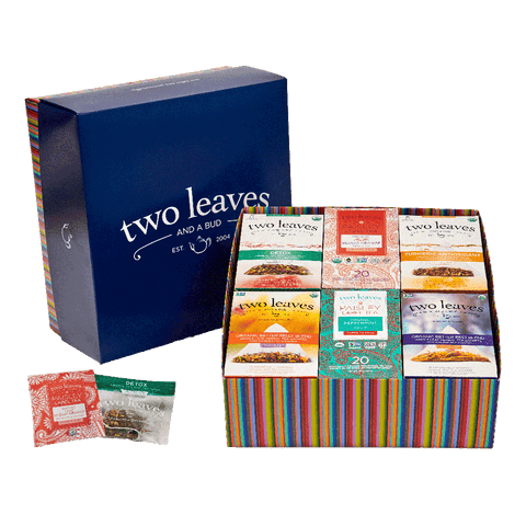 100 Cups of Organic Herbal Tea Sampler Box