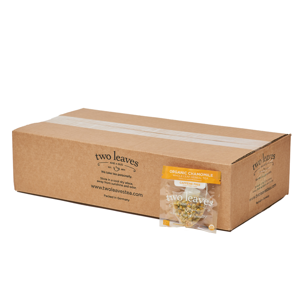 Organic Chamomile Tea 100ct Box