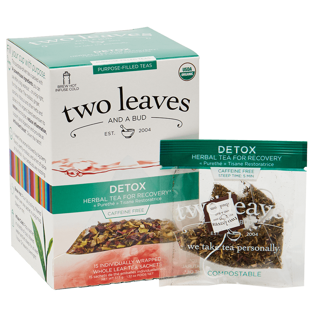 Organic Detox Retail Box and Envelope