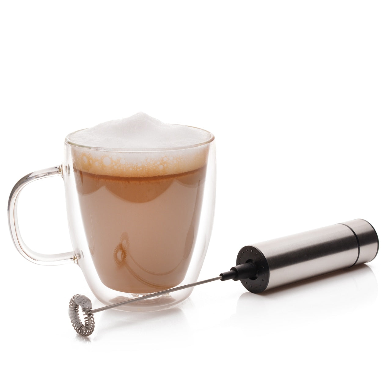 Professional Milk Frother and mug