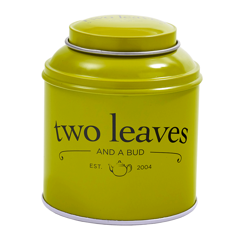 Two Leaves Tea Green Tin