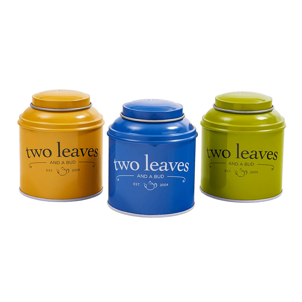 Two Leaves Tea Tins
