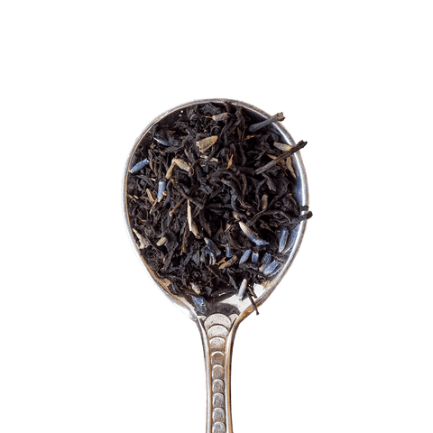 Organic Lavender Earl Grey Loose Tea Spoon