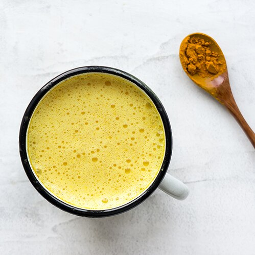 Two Roots Turmeric Ginger Latte