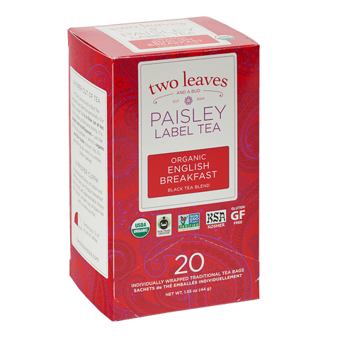 Paisley Organic English Breakfast Retail Box