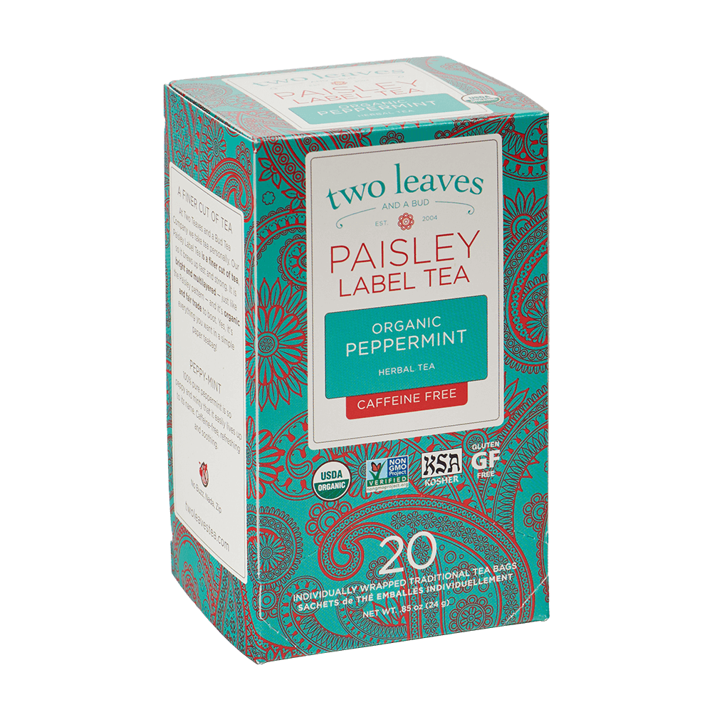 Paisley Organic Peppermint Retail Box