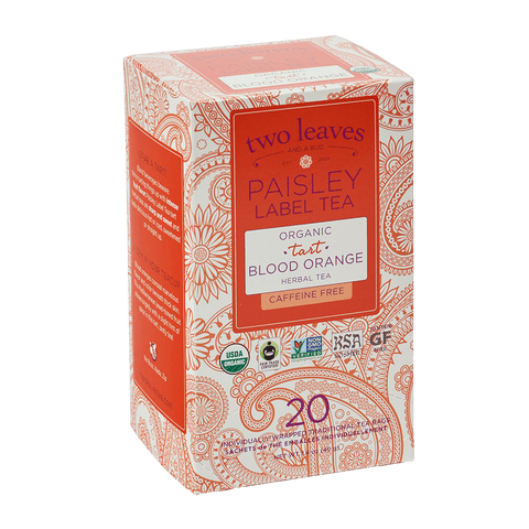 Paisley Organic Tart Blood Orange Retail Box