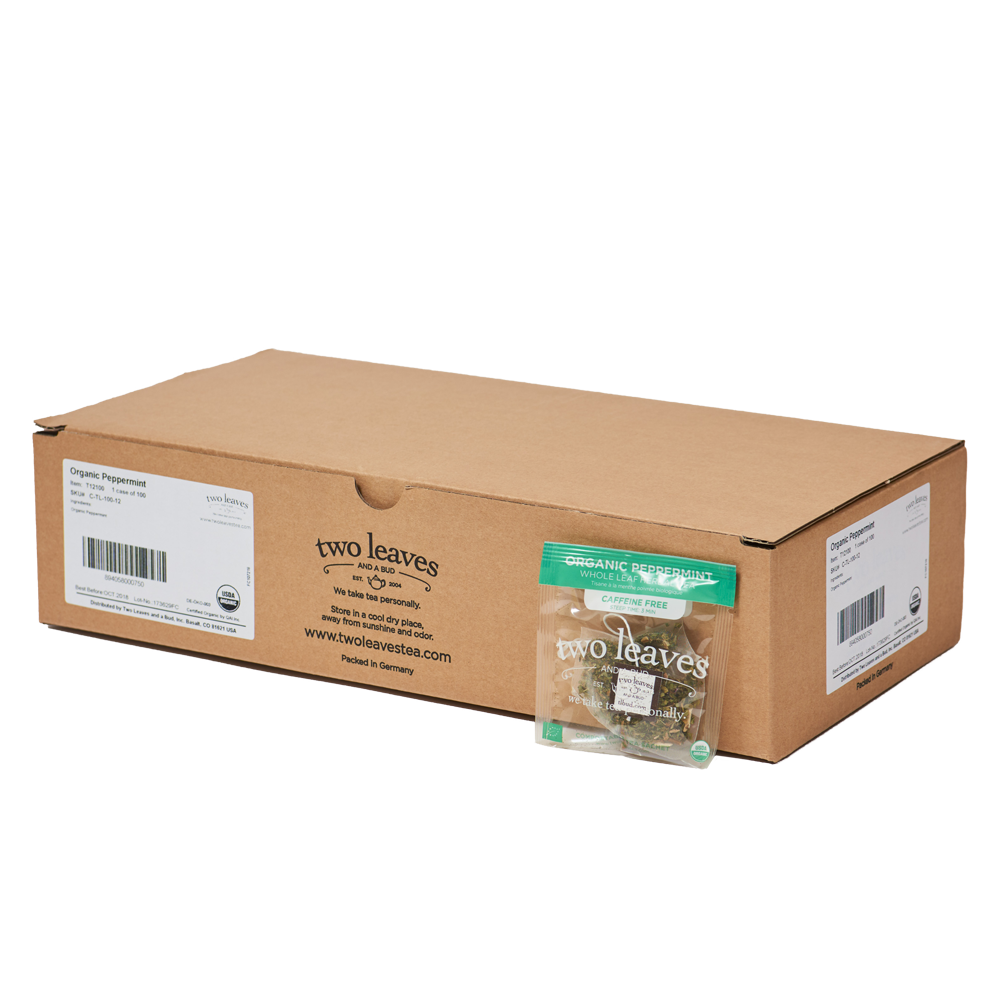 Organic Peppermint 100ct Box
