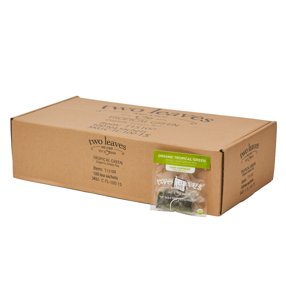 Organic Tropical Green 100ctl Box