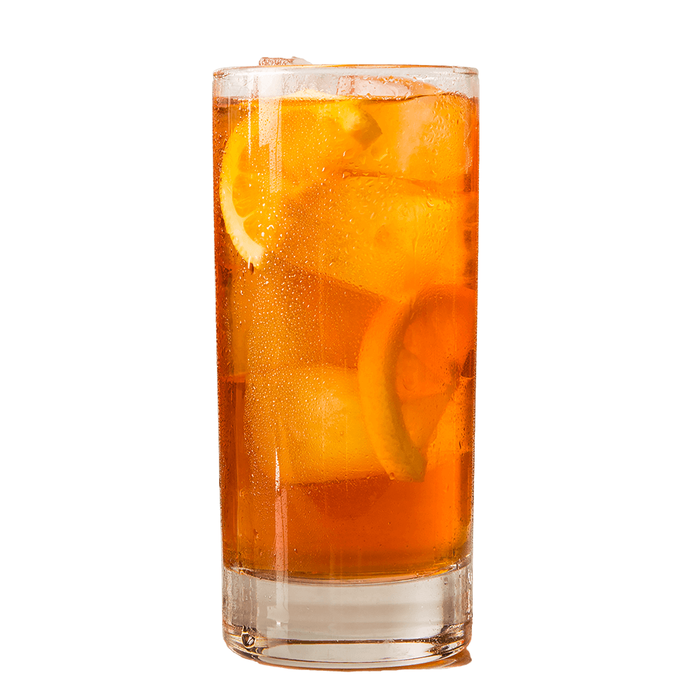 Organic Black Iced Tea Glass