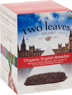 Organic English Breakfast Sachet