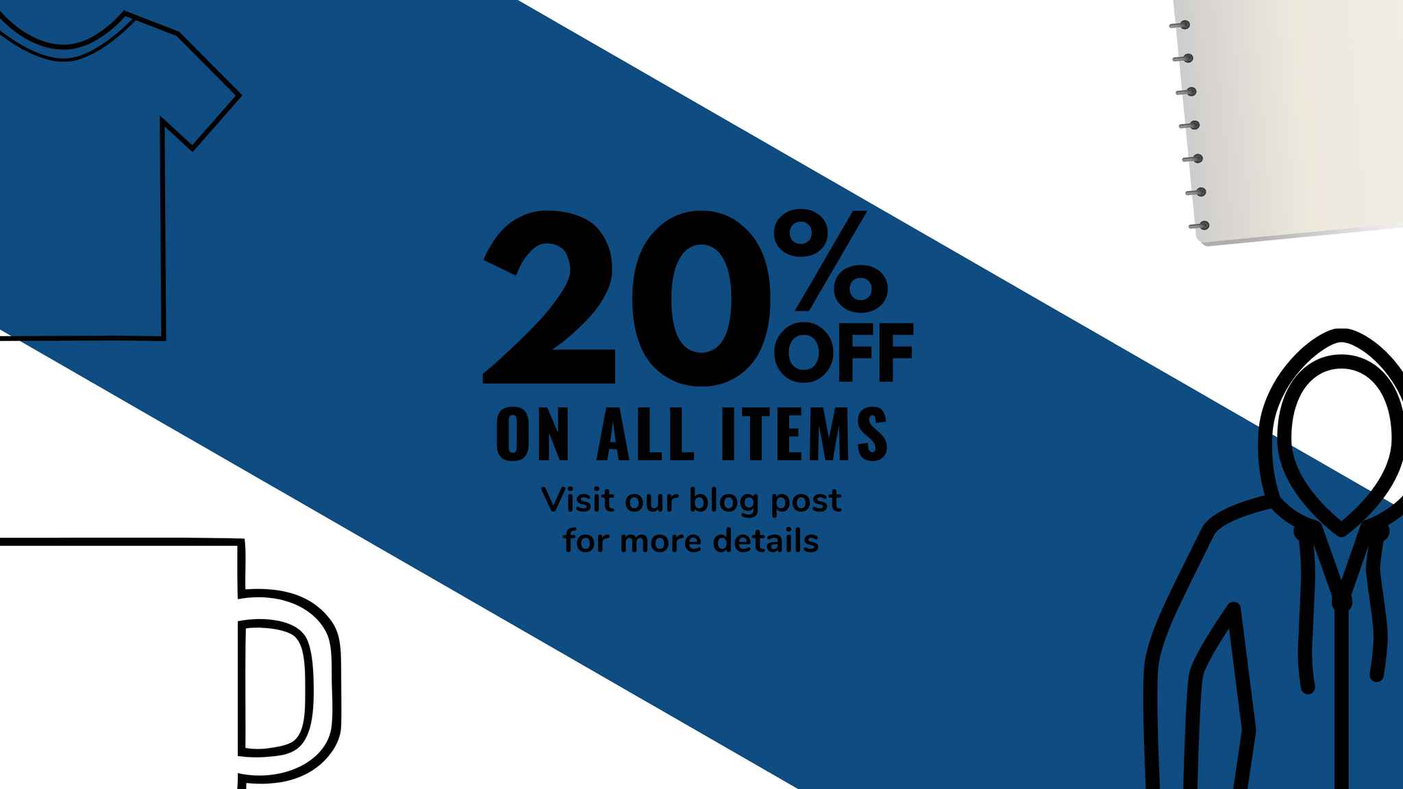 20% OFF on ALL Items