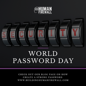 #WorldPasswordDay 2020