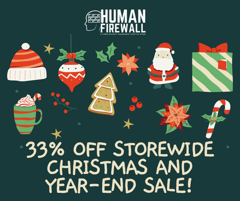 Human Firewall Cyber Security Christmas Sale
